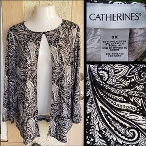0x 16W women CATHERINES stretchy sequin jacket